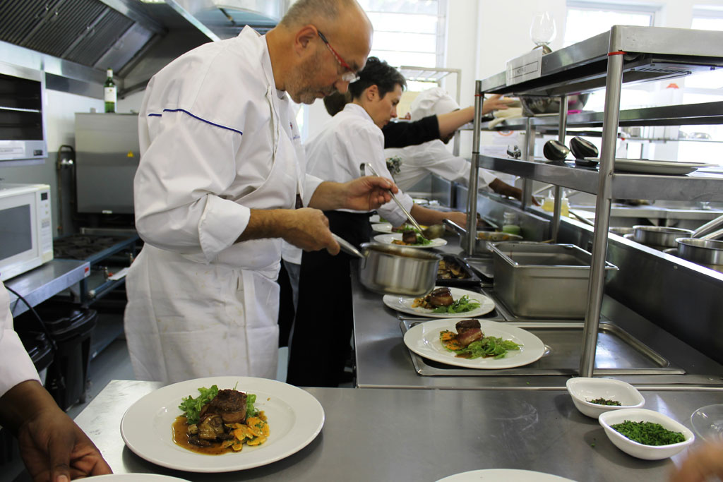 French chefs come to visit gallery boland college for Chef comes to your house
